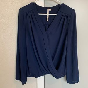 Nordstrom wrap blouse